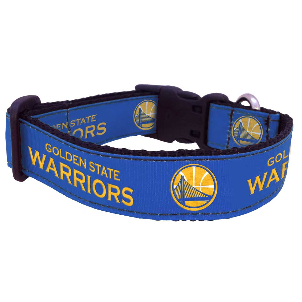Sizes Golden State Warriors Dog Pet Collars Single-Sided