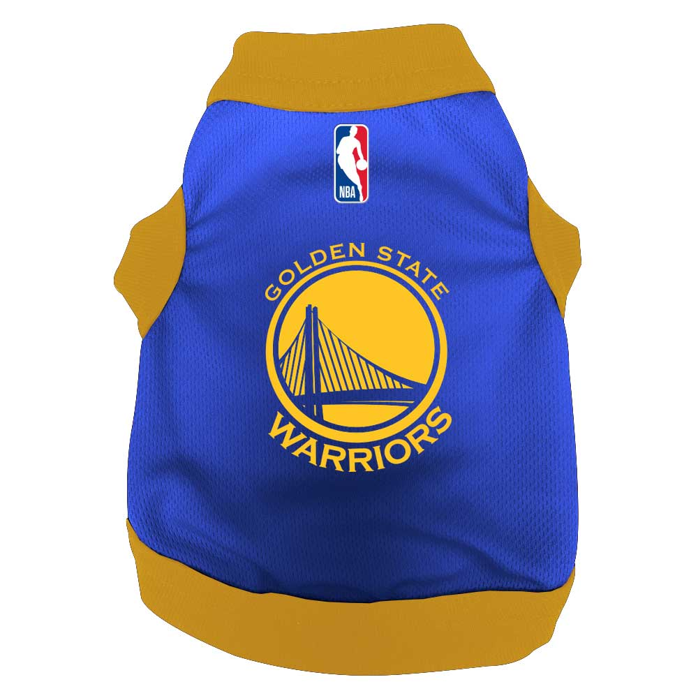 hot sale online 582f0 fc18b All Star Dogs: Golden State Warriors Pet apparel and accessories