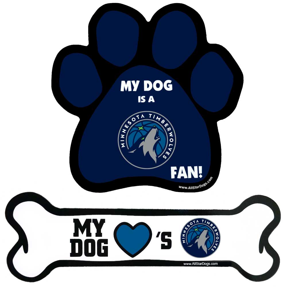 5ef31e392bb All Star Dogs: Minnesota Timberwolves Pet apparel and accessories