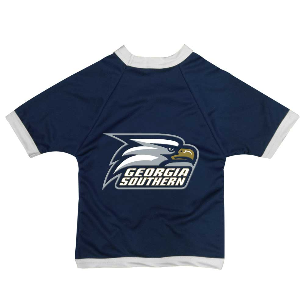 Tiny NCAA Georgia Southern Eagles Cheerleader Dog Dress