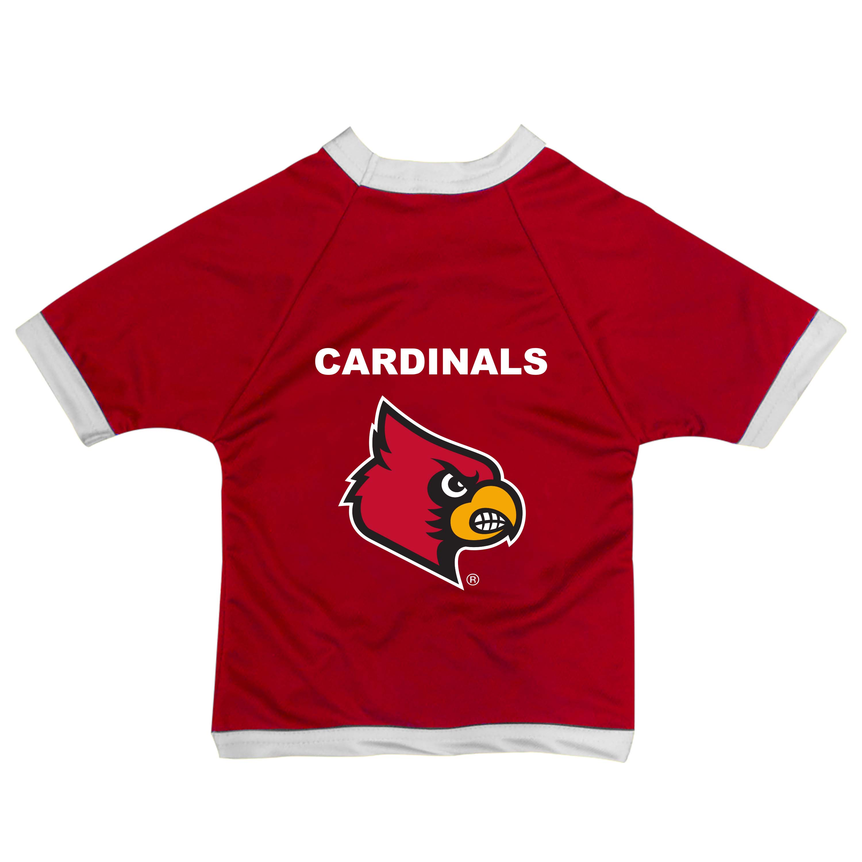 All Star Dogs  University of Louisville Cardinals Pet apparel and ... 4783c7fa3