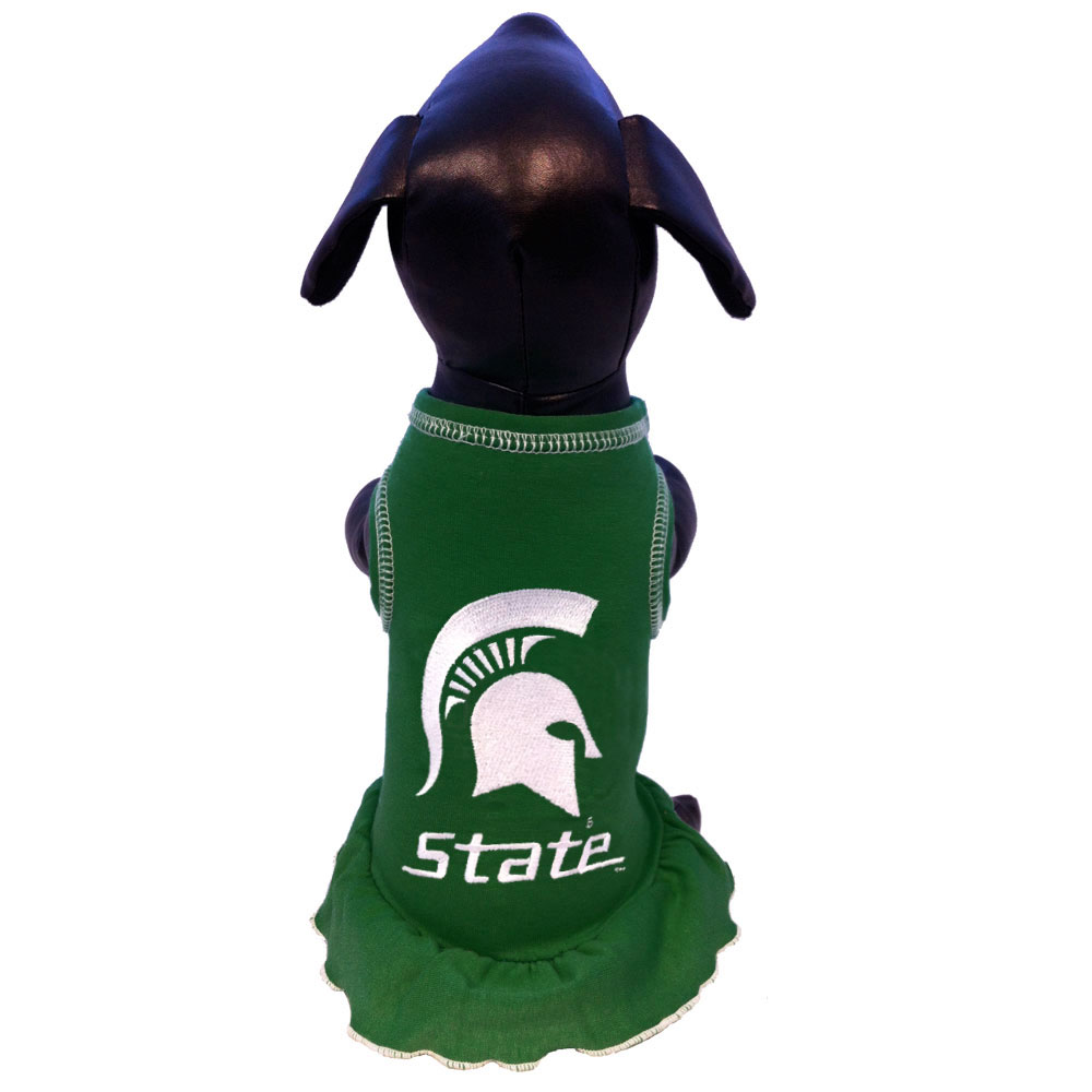 Small All Star Dogs NCAA Michigan State Spartans Dog Collar